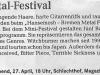 Wochen-Journal vom 25.04.2013