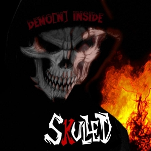 Skulled - Demon Inside - Cover